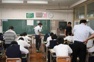 授業の写真
