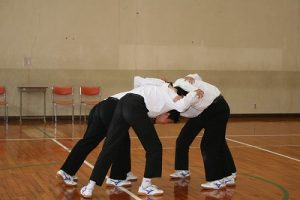演劇練習の写真