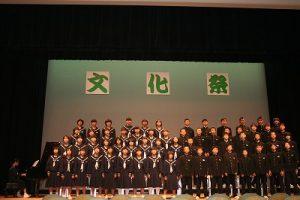 全校合唱の写真