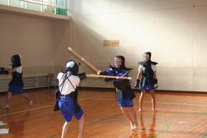 剣道授業の写真