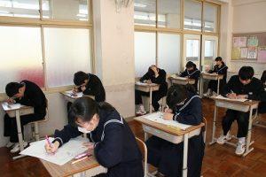 テスト中の写真