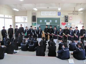 生徒総会の写真
