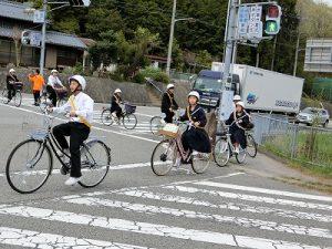 交通訓練の写真