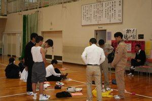 文化祭練習の写真