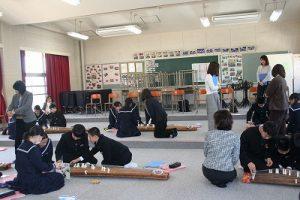 音楽の授業の写真
